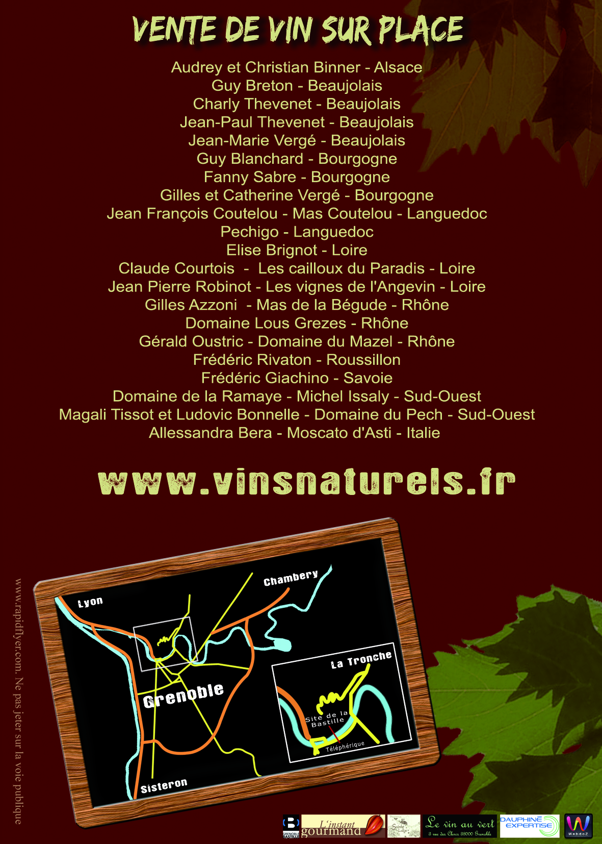 Rencontre vinsobres
